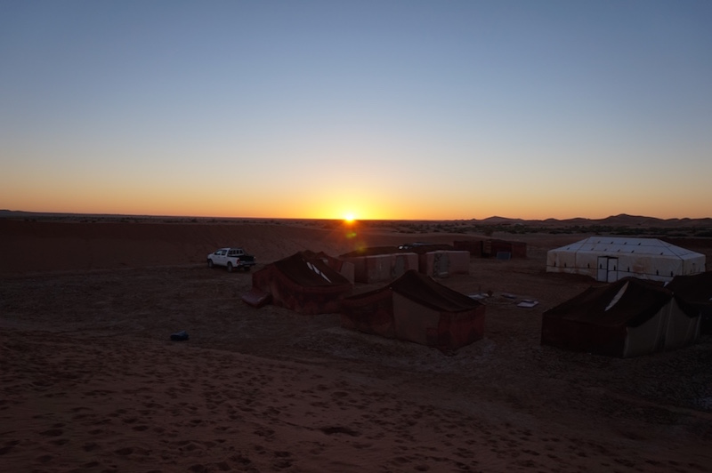 Zonsopkomst Sahara