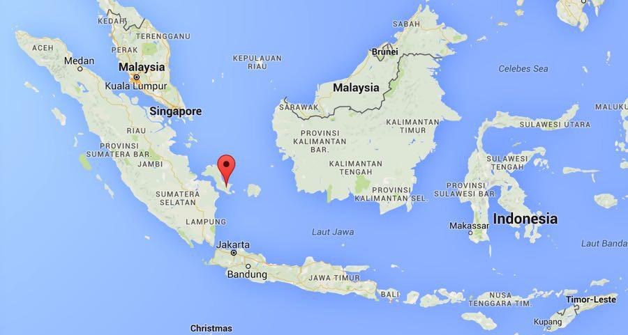 Bangka Google maps