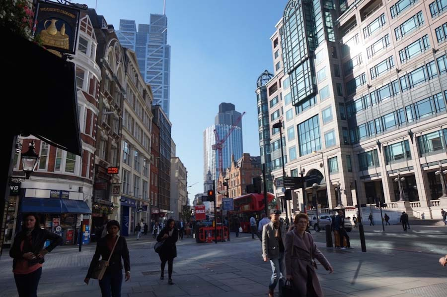 londen the city