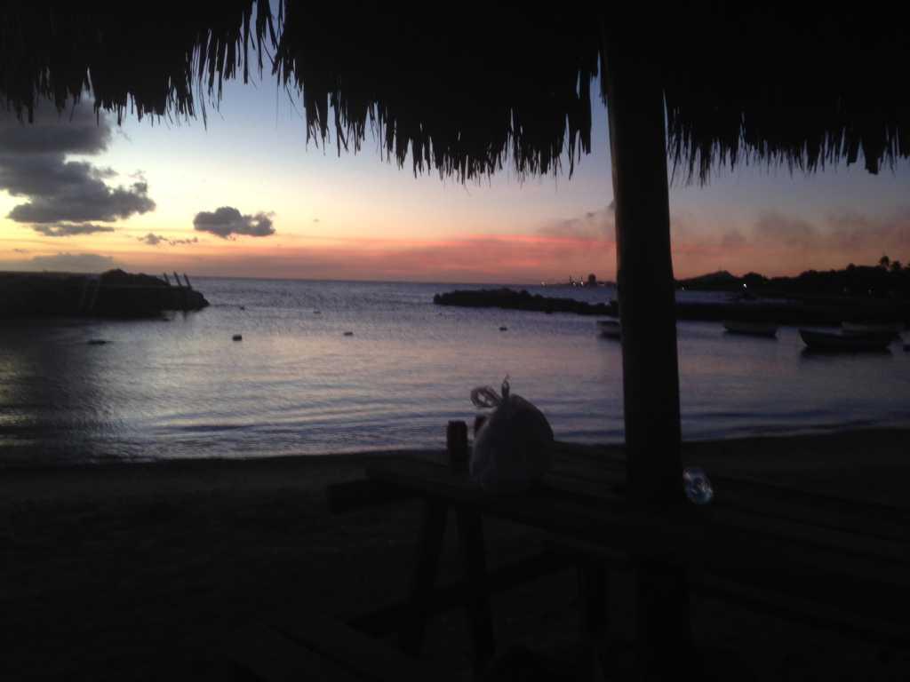 sunset-curacao